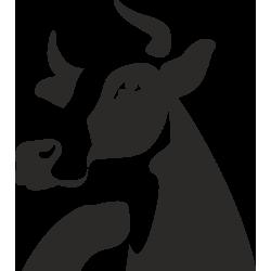 Sticker Ferme Vache 1