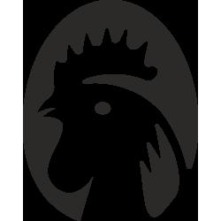 Sticker Ferme Coq 1