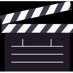 Autocollant Métier Audiovisuel Action