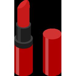 Autocollant Métier Esthétique Rouge à Lèvres