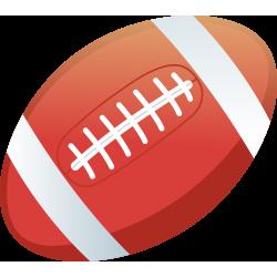 Autocollant Métier Loisirs Sport Rugby