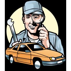 Autocollant Métier Mécanique Garage 6