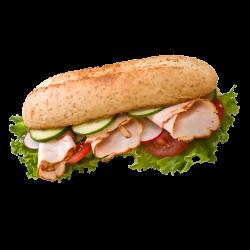 Autocollant Salé Sandwich
