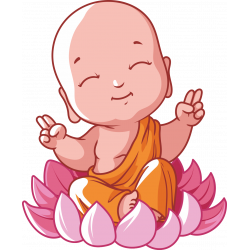Autocollant Logo Yoga Meditation 9