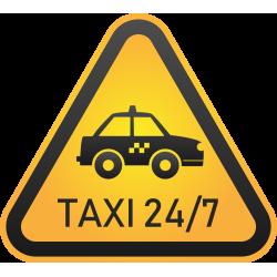 Autocollant Métier Taxi 6