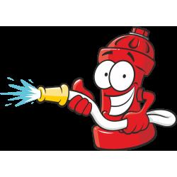 Autocollant Métier Pompier 2