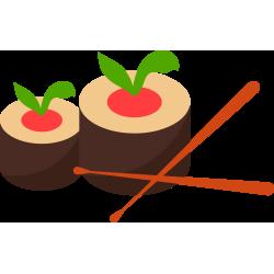 Autocollant Sushi 2