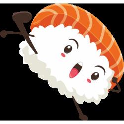 Autocollant Sushi 3
