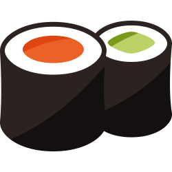 Autocollant Sushi 8