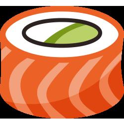 Autocollant Sushi 9