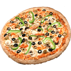 Autocollant Alimentation Pizza 4