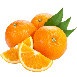 Autocollant Alimentation Fruit Orange 2