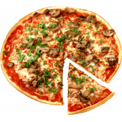 Autocollant Alimentation Pizza 5