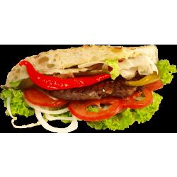 Autocollant Alimentation Sandwich 6