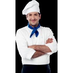 Autocollant Personne Cuisinier 1