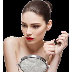 Autocollant Personne Femme Beauté Maquillage 10
