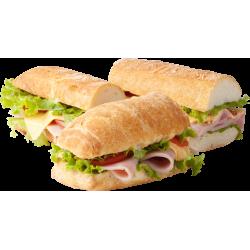 Autocollant Alimentation Sandwich 2 1