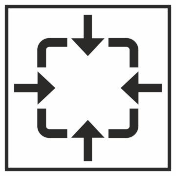 Autocollant Information Point Rassemblement