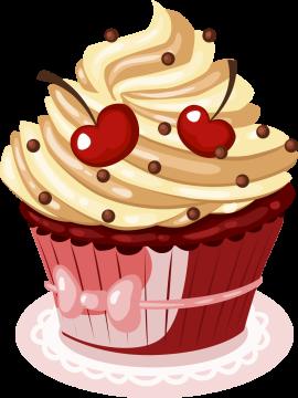 Autocollant Cup Cake 3