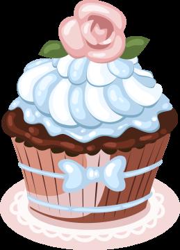Autocollant Cup Cake 4