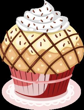 Autocollant Cup Cake 5