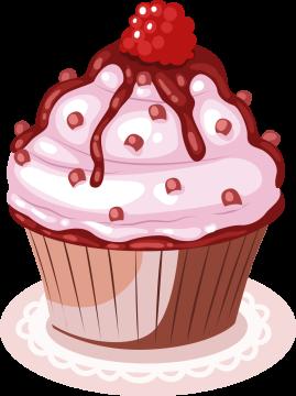 Autocollant Cup Cake 6