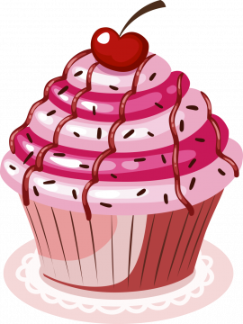Autocollant Cup Cake 7
