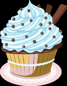 Autocollant Cup Cake 8