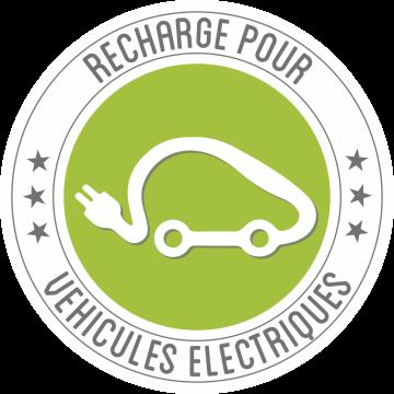 Autocollant Panneau Recharge Véhicule électrique