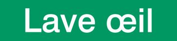 Autocollant Signalisation Lave oeil