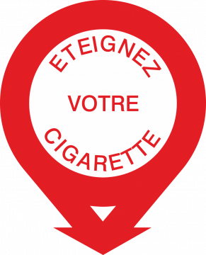 Autocollant Eteignez Votre Cigarette