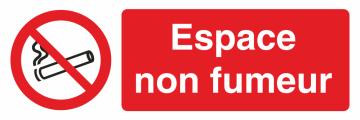Autocollant Interdiction De Fumer Espace Non Fumeur