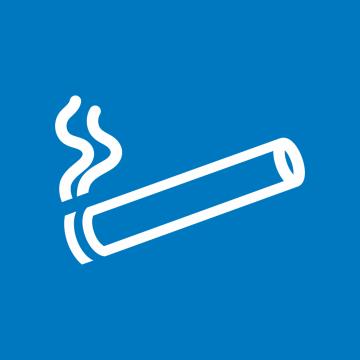 Autocollant Espace Fumeur