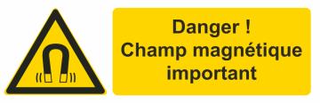 Autocollant Champ Magnétique Important 1