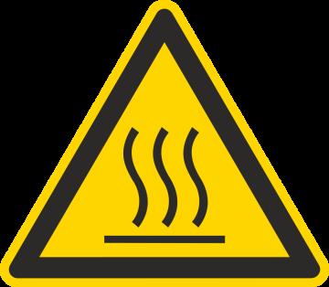 Autocollant Danger Haute Température