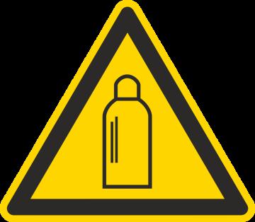 Autocollant Danger Bouteilles De Gaz
