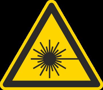 Autocollant Danger Rayonnement Laser