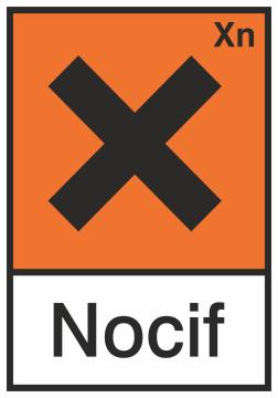 Autocollant Produit Dangereux Nocif