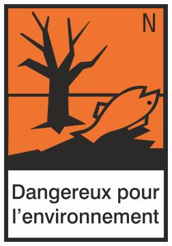 Autocollant Produit Dangereux Dangereux Pour L'environnement