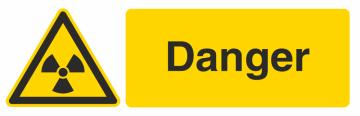 Autocollant Produit Dangereux Danger