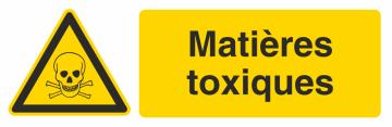 Autocollant Produit Dangereux Toxiques