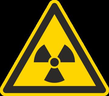 Autocollant Matières Radioactives