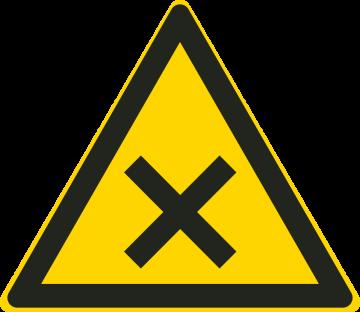 Autocollant Matières Nocives Ou Irritantes