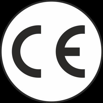 Autocollant Logo Ce Rond