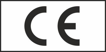 Autocollant Logo Ce Rectangle