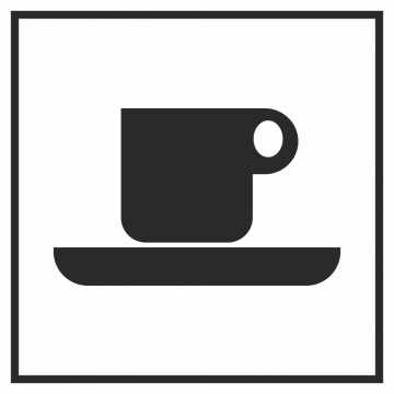 Autocollant Information Cafétaria