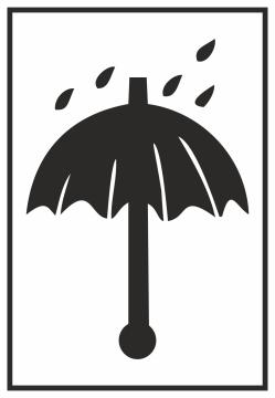 Autocollant Emballage A Protéger Contre La Pluie