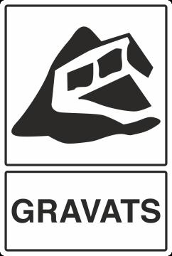 Autocollant Recyclage Gravats
