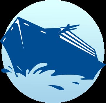 Autocollant Métier Voyage Bateau