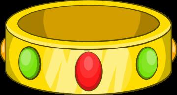 Autocollant Métier Bijoux Bracelet Rubis